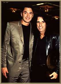Andy Hallett/Alice Cooper